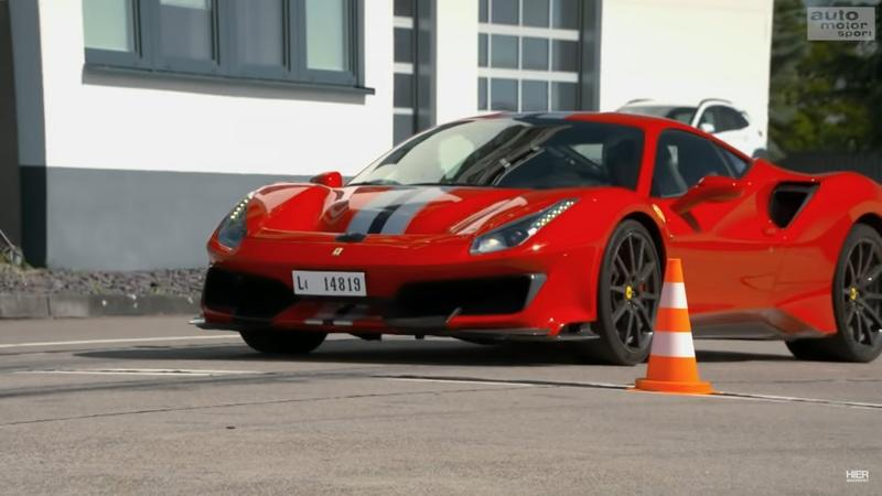 You Probably Won't Understand This Ferrari 488 Pista Video, But You'll Love It