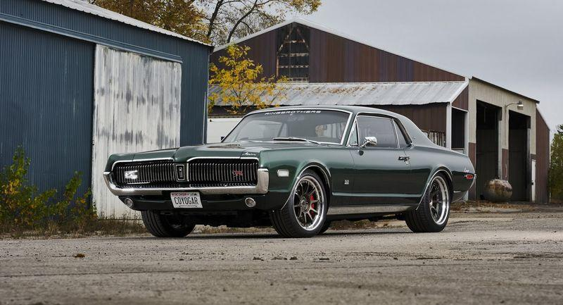 1968 Mercury Cougar by Ringbrothers