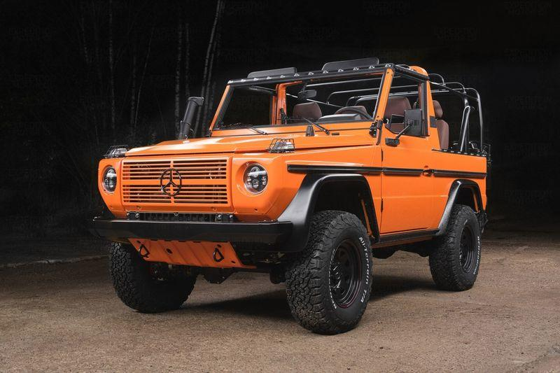 1990 Mercedes 250GD Wolf by Expedition Motor Company