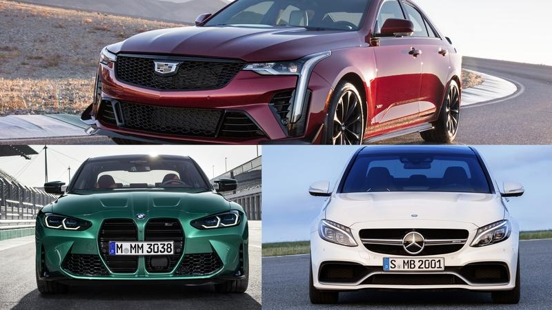 2022 Cadillac CT4-V Blackwing Performance Rundown: How Does It Compare to BMW M3 and Mercedes-AMG C63