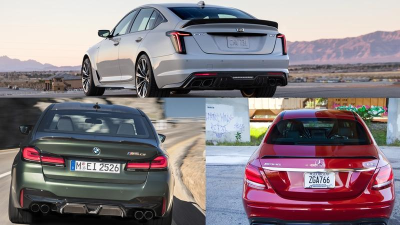 2022 Cadillac CT5-V Blackwing Performance Rundown: How Does It Compare to The BMW M5 and Mercedes-AMG E63?