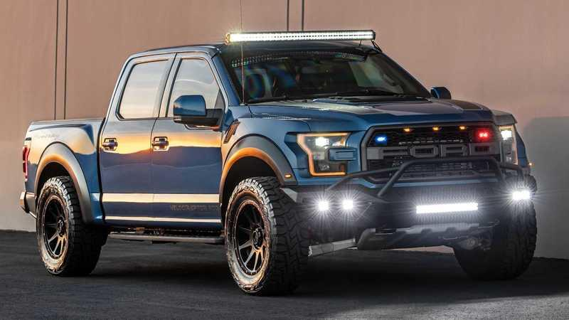 AddArmor Has Customized The Hennessey VelociRaptor Into A Bullet-Proof Truck