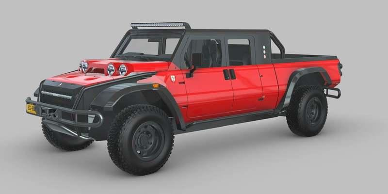 Check Out This Weird Glickenhaus Jeep Gladiator Competitor