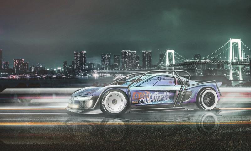 Cyberpunk in Real Life? Here's What Your Favorite Modern Cars Would Look Like
