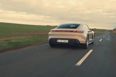 Drifting in a RWD Porsche Taycan? We're Not So Sure