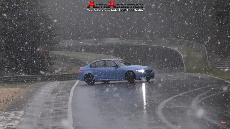 Extreme Weather Conditions and The Nurburgring Just Don't Mix