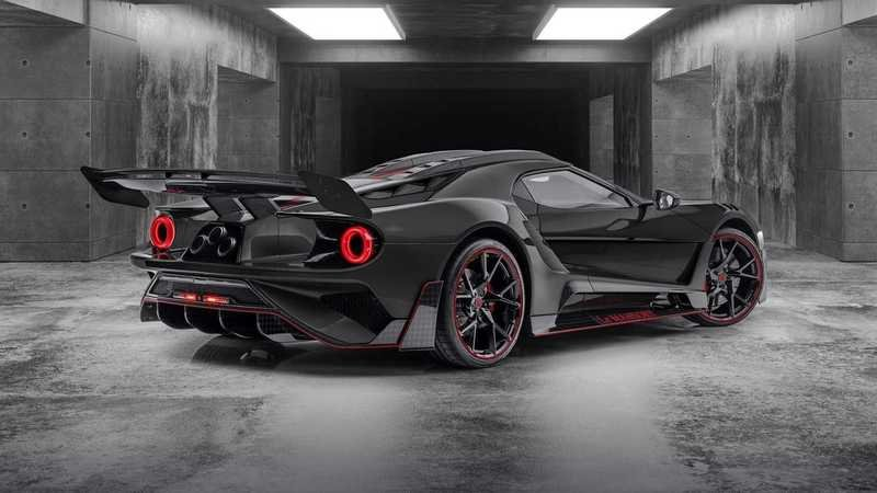 2021 Ford GT Le Mansory