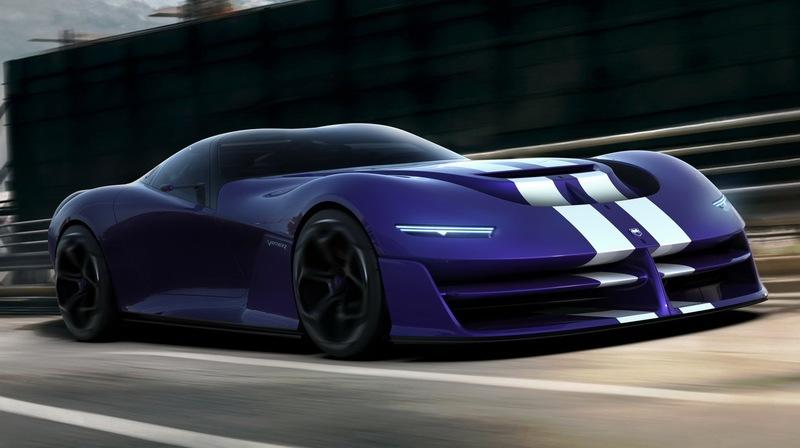 Here's the Next-Generation Dodge Viper That Will Probably Never Exist