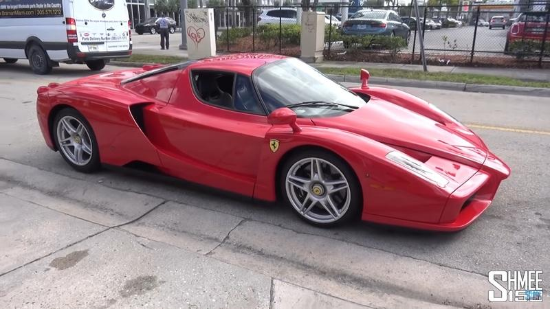 Holy Crap Does This Straight-Piped Ferrari Enzo Sound Awesome
