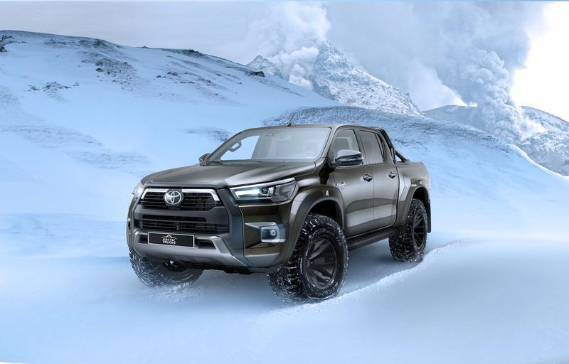 Is The Toyota Hilux AT35 a True European Competitor for the Ford Ranger Raptor? Exterior Wallpaper quality - image 969269