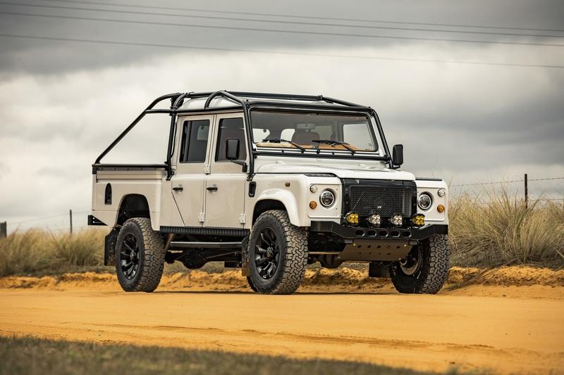 "2021 Land Rover Defender 130 ""Project Mule"" by ECD Automotive Design"