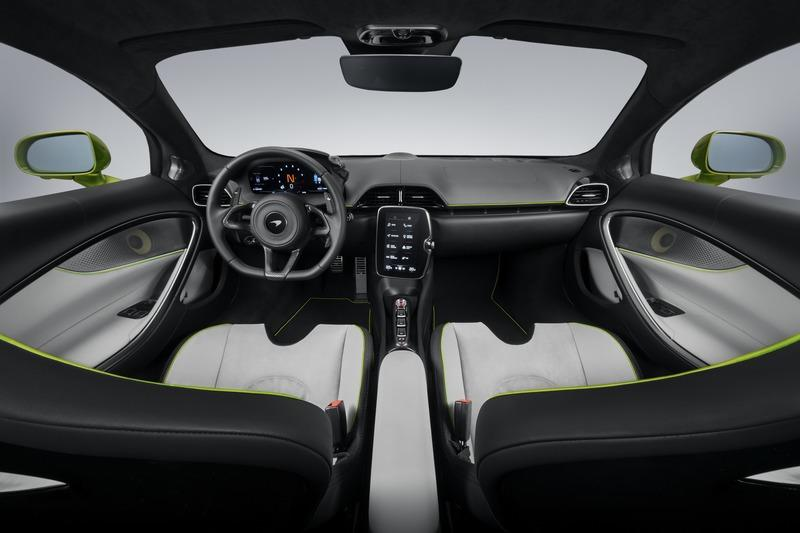 McLaren Artura - The Plug-In Hybrid Supercar Without a Reverse Gear! Interior High Resolution - image 971454