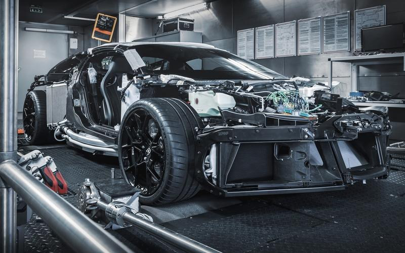 Now You Can See What The Bugatti Centodieci Looks Like Under The Pretty Body Work