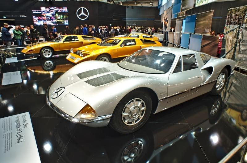 The 1966 Mercedes-Benz SLX Is The AMG One's Long Lost Relative