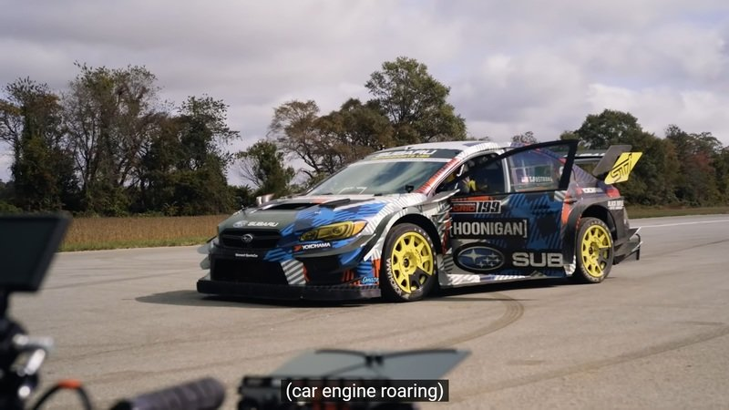The 862-Horsepower Subaru WRX STI From Gymkhana Was a Masterpiece of Modern Engineering