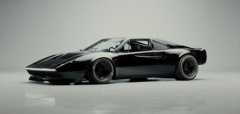 The Brawler MHC 001 - A Ferrari 308 With An Apocalyptic Twist