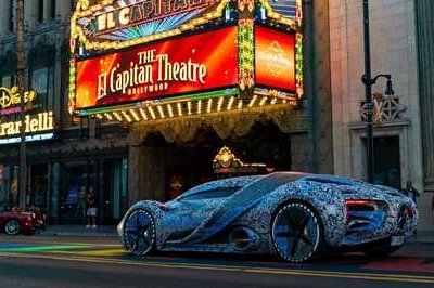 The Hyperion XP-1 Looks Oddly In Place On the Streets of Hollywood