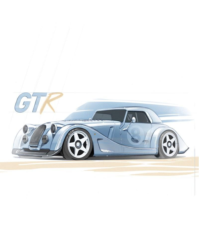 The Morgan Plus 8 GTR Special Edition Is Going To Be Epic Exterior - image 972060