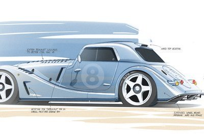 The Morgan Plus 8 GTR Special Edition Is Going To Be Epic