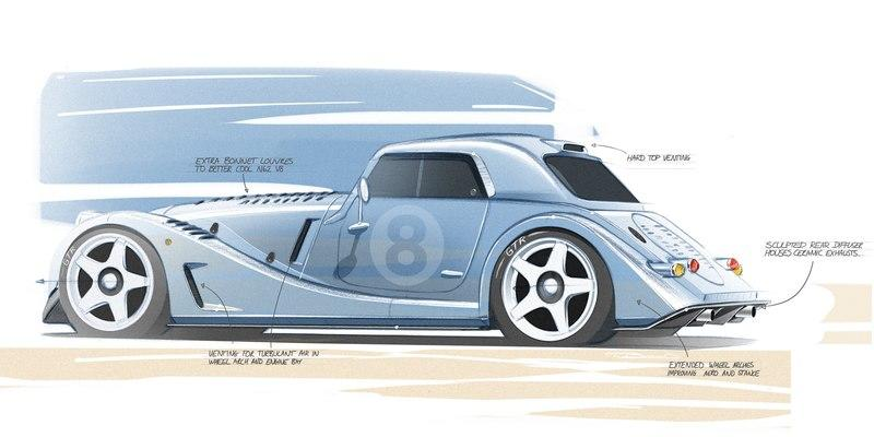 The Morgan Plus 8 GTR Special Edition Is Going To Be Epic Exterior - image 972067