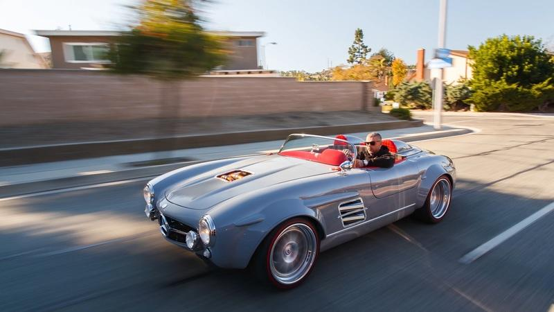 This Mercedes 300SL Has a Supercharged AMG Monster of a Heart