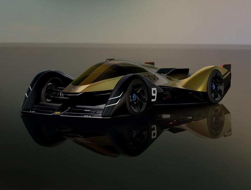 This New Lotus E-R9 Endurance Racer Concept Is, Without A Doubt, The Future