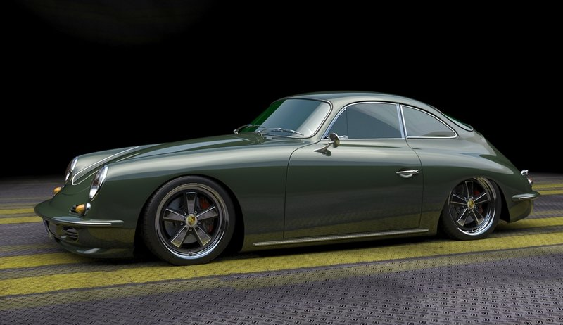This Porsche 356 Restomod on a 911 Chassis Is Exactly What Porsche Needs to Do Exterior Computer Renderings and Photoshop - image 970930
