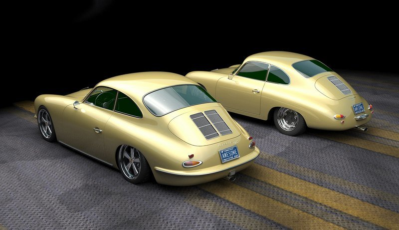 This Porsche 356 Restomod on a 911 Chassis Is Exactly What Porsche Needs to Do Exterior Computer Renderings and Photoshop - image 970932