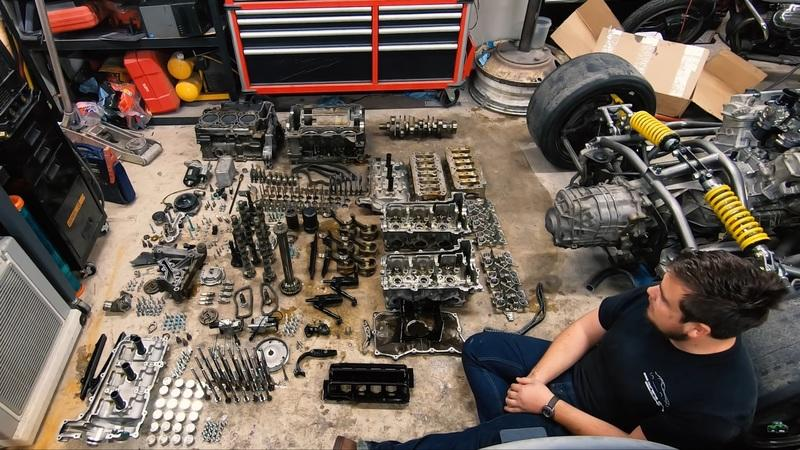 This Time Lapse Porsche Flat-6 Teardown is Pure Gear Head Therapy