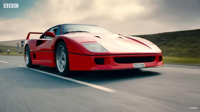 Top Gear, The Ferrari F40, and the Jaguar XJ220 - This Is Going to Be Epic