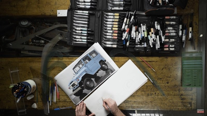 Watch a Modernized Toyota FJ40 Come to Life at the Hands of Chip Foose