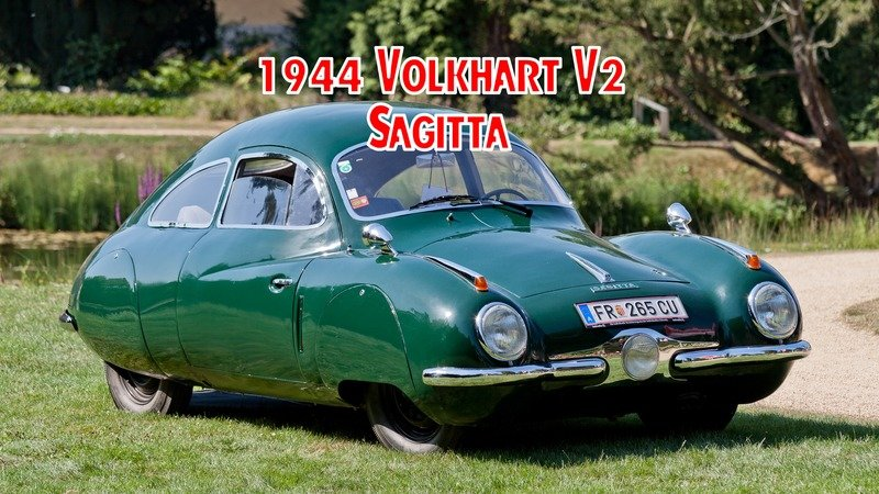 1944 Volkhart V2 Sagitta - The Luftwaffe's Sleek Courier Car