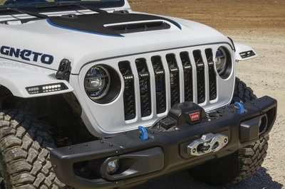 Jeep Wrangler Magneto: How Jeep Plans to Make the Wrangler All-Electric