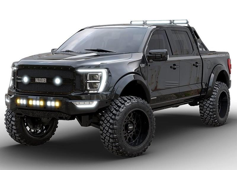 2021 Ford F-150 Midnite Edition by Maxlider Motors