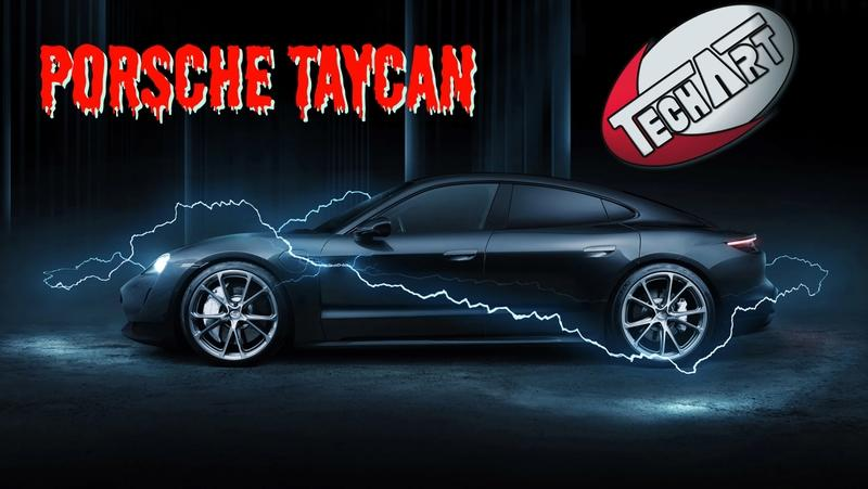2021 Porsche Taycan by Techart
