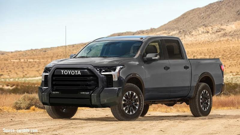 Toyota's Latest Teaser Includes Evidence That the Tundra Will Be a hybrid - image 979403