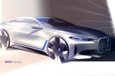 Electric BMW i4 First Look - A Tesla Model 3 Competitor.... Kind of