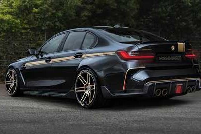 2021 BMW M3 and M4 by Manhart