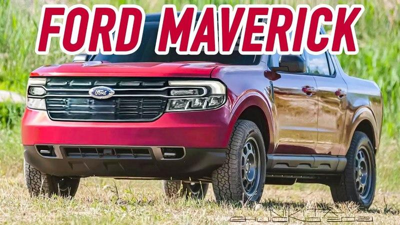 Everything You Need to Know About the New 2022 Ford Maverick Pickup
