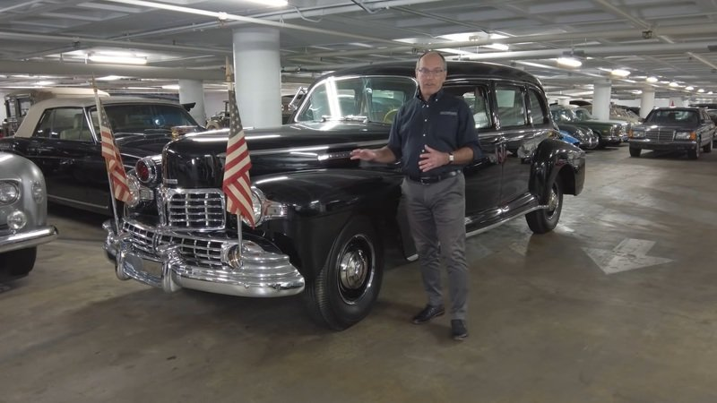 FDR's Armored 1942 Lincoln Limo Would Be At Least $1 Million Today