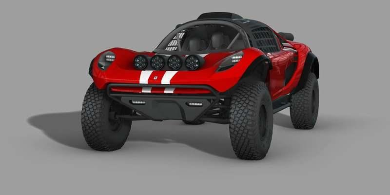 Feast Your Eyes on the Glickenhaus 008 Dakar Buggy