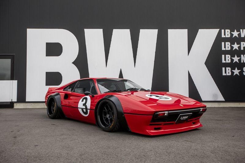 2021 Ferrari 308 GTS by Liberty Walk