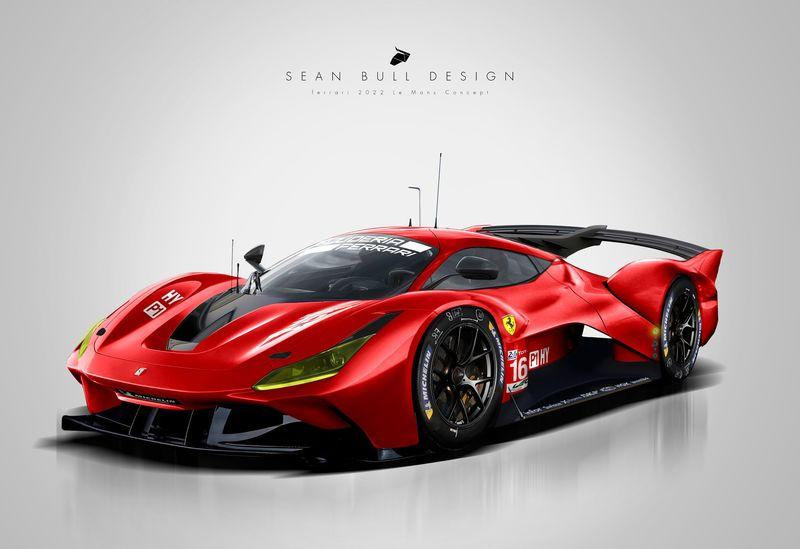 Ferrari Is Developing An All-New Hypercar For Its Return To Le Mans!