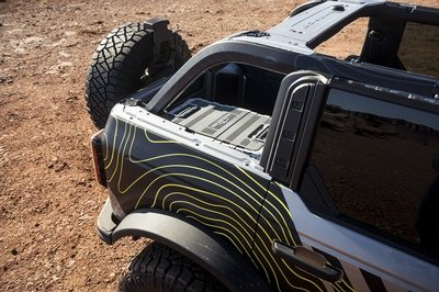 Ford Gatecrashes Moab Easter Jeep Safari With Four Bronco Concepts