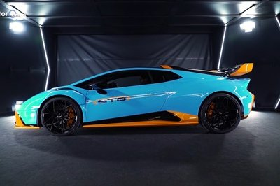 Here's Your First Real Look At the Lamborghini Huracan STO