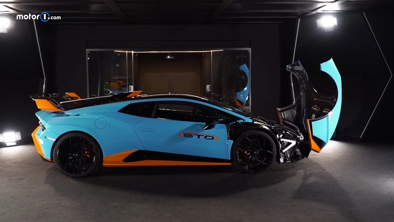 Here's Your First Real Look At the Lamborghini Huracan STO - image 974405