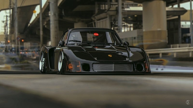 Porsche 935 MOBY X - Transitioning from Photoshop to Reality