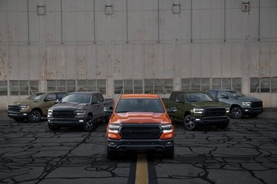 2021 Ram 1500 'Built to Serve': Coast Guard Edition