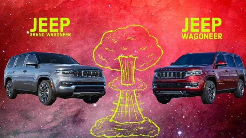 Take a Good Look At the New 2022 Jeep Wagoneer and Grand Wagoneer