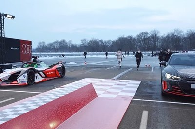 The Audi E-Tron GT Takes On A Formula E Racer In Epic Fashion